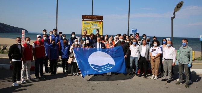 Mavi Bayraklı İnkumu Sahilinde Temizlik Yapıldı