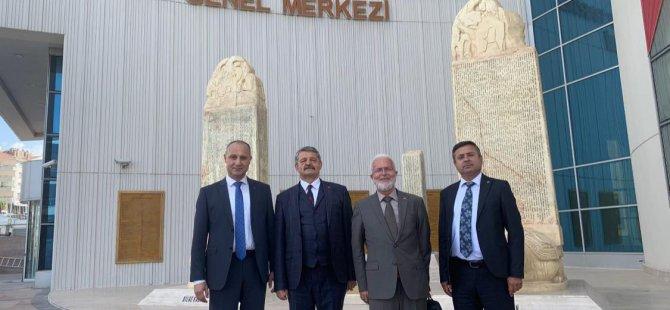 Akın MHP Genel Merkezimizde Temaslarda Bulundu