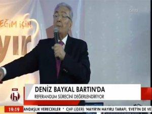 Baykal'ın konuşmasını Halk TV canlı yayınladı