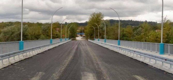 Çaybükü Köprüsü hizmete açılıyor