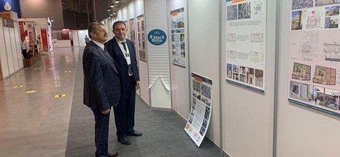 Başkan İstanbul'da Fuara Katıldı