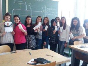 Öğrenciler staj için Viyana şehrine gittiler