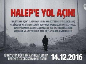 """""""Halep'e Yol Açın"""" konvoyu"""