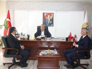 Türk Diyanet Vakıf-Sen'den Ulus Belediyesi'ne ziyaret