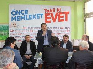 AK Parti Eveti Anlatıyor