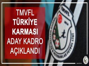 TMVFL Türkiye Karması Bartın'dan bir kişi seçildi