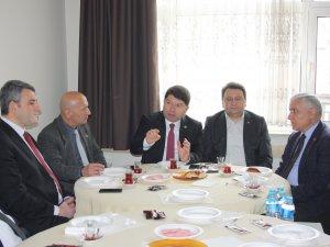 Milletvekili Tunç, BASAD üyelerine yeni sistemin avantajlarını anlattı