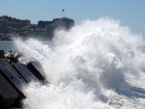 Zonguldak'ta Şiddetli Rüzgar