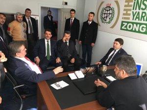 Tunç'tan Zonguldak İHH'ya ziyaret