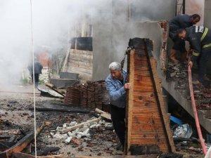 Köy yanmaktan son anda kurtuldu
