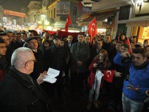 İstanbul'daki terör saldırısına tepki gösterildi