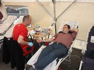 3 günde 636 kişi kan bağışında bulundu