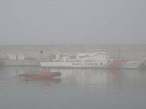 Yoğun sis nedeniyle görüş mesafesi 30 metreye kadar düştü