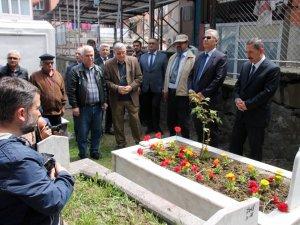 Ünlü ressam ölümün yıl dönümünde Ereğli'de anıldı.