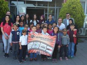 Ereğli'de İlkokul Öğrencileri Sinemayla Tanıştı