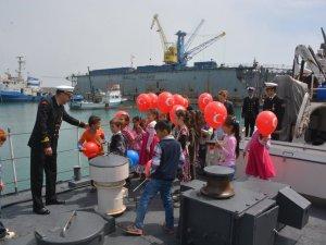 Köy Okulu Öğrencileri İlk Kez Denizi Gördü