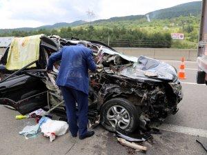 Bolu'da Trafik Kazası: 1 Ölü, 6 Yaralı