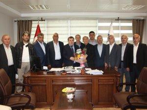 Başkan Günay, SGK İl Müdürü Öztekneci'yi ziyaret etti