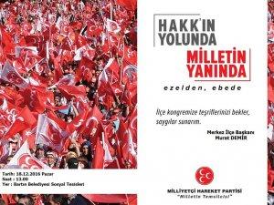 MHP'de Tek Aday Murat Demir