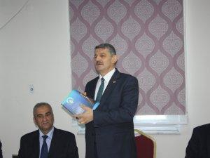 Başkan Akın, projelerle ilgili bilgiler verdi