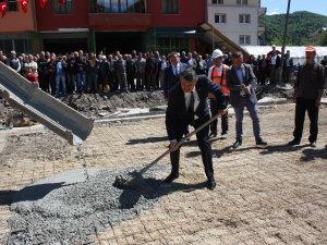 Kumluca'da Kapalı Pazar Yerinin temeli atıldı