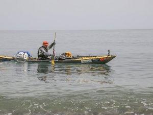 Sigara ve Uyuşturucuya Karşı Kano İle Karadeniz'e Açıldı