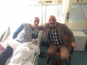 Bulut'tan ASKF Başkanı Altınçubuk'a geçmiş olsun ziyareti
