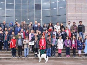 İlkokul Öğrencileri Bartın Üniversitesi'ni Gezdi