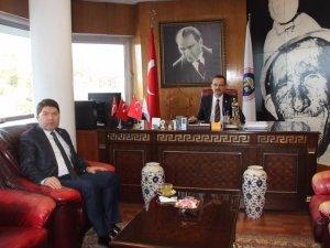 Tunç, TTK Genel Müdürünü Ziyaret Etti