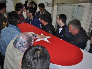 Kalp Krizi Sonucu Hayatını Kaybeden Asker Memleketine Getirildi