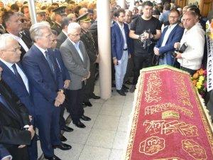 Başkan Aksoy'un babası İrfan Aksoy toprağa verildi