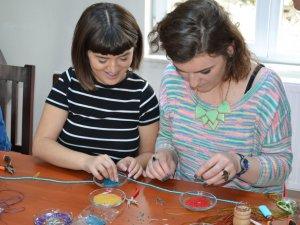 Kosovalı Kadınlar Karabük'te El Sanatları Öğreniyor