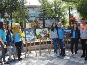 Güzel Sanatlar Lisesi Öğrencilerinden 'yılsonu Sergisi'