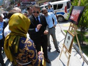 Ulus'ta ilk kez sokak sergisi düzenlendi