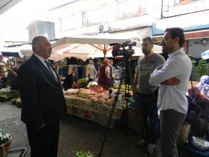 İl Müdürü Dursun, Galla pazarını El Cezire'ya anlattı