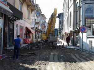 Aşağı Cami Sokak yeniden düzenleniyor