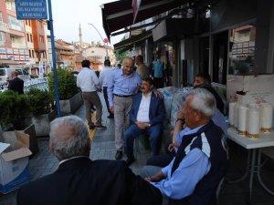 Davut Fırıncıoğlu Caddesi esnafı iftar verdi