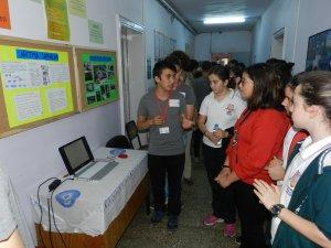 Meslek Liseli Öğrencileri projelerini sergiledi