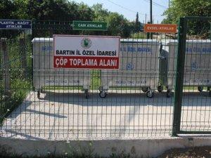 Bartın'da Köylerde Çöp Toplama Alanı Uygulaması