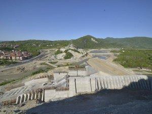 Kozcağız Barajı'nda çalışmalar devam ediyor