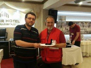 Türk Kızılayı'ndan Kan Bağışçılarına Madalya