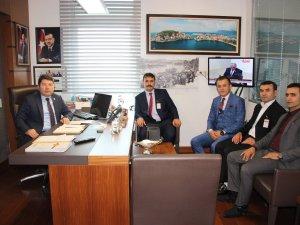 Soma Zonguldak Bartınlılar Derneği'nden Milletvekili Tunç'a Ziyaret