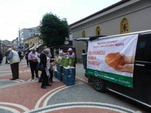 """""""Somuncu Baba Sebil Ekmeği"""" dağıtıldı"""
