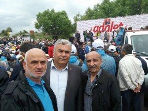 CHP Genel Başkanı Kılıçdaroğlu'na CHP İl Başkanı Arslan destek verdi
