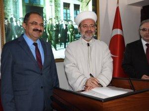 Diyanet İşleri Başkanı Görmez, Zonguldak'ta