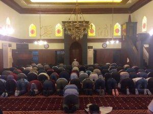 Ramazan ayının son teravih namazı kılındı