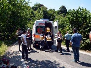 Alaplı'da Trafik Kazası: 2 Yaralı