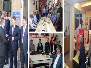 AK Parti, CHP, MHP ve Saadet bayramlaştı