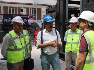 Kilitli Parke Üretim Tesisi kurulması ile ilgili çalışmalar devam ediyor