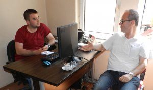 Başdanışman Özkan, Engin'i ziyaret etti